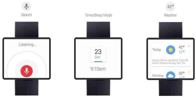 Google Time smartwatch Concept 2