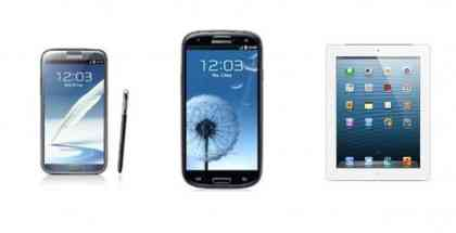 Galaxy S3-Note 2-iPad 16GB-Offerta