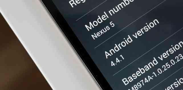Android 4.4.1: inizia il rollout, disponibile al Download per Nexus 5, 4 e 7 LTE