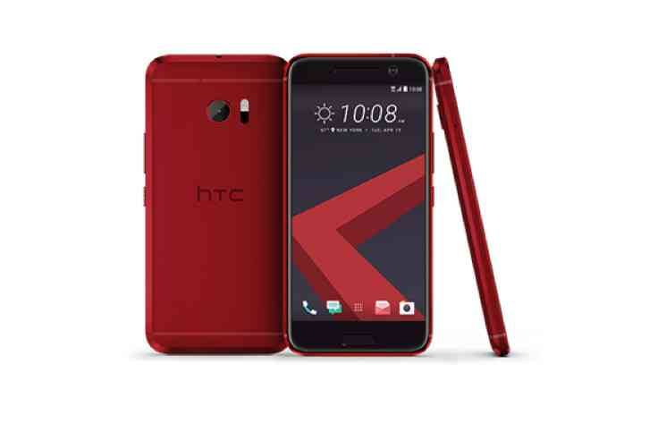 HTC 10 Camelia Red è ora disponibile su HTC.COM